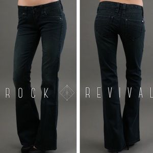 Rock by Rock Revival Gia Flare Jeans in F2
